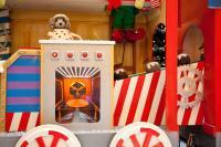 Christmas Train - Wasch und Backwagon