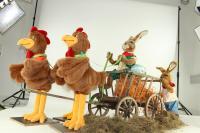 Eier - Geschenktransport mit Spedition Gockelspeed
