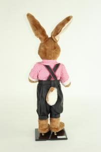 Rabbit with leather pants