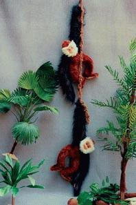Der schwingende Affe