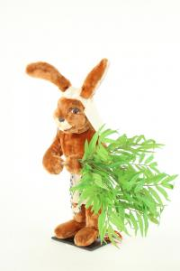Hare- Eigypter with palme bunch
