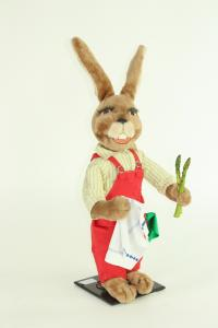 Hare- asparagus shop assistant