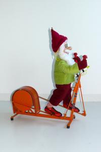 Fit for Christmas - Wichtel im Fitnessstudio