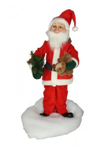 Santa with squirrel