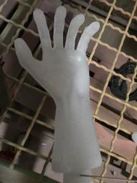Hände zerfurcht 1 Paar
