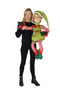 Bending Figure Christmas Elf