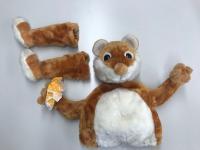 Hamster  Umrüst- Set für  stehende Standard Figuren 75 cm