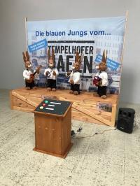 Hasen Chanty Chor blaue Jungs vom Tempelhofer Hafen