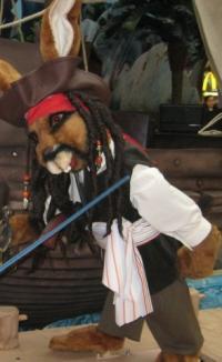 Hoppelwood - Pirates of the Caribbean scene