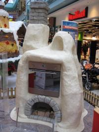 Ofen Weihnachtsbäckerei