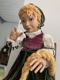 The fairy tale Rapunzel